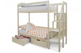 Двухъярусная кровать Бельмарко Бежевый