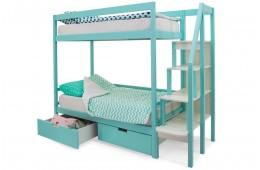 Двухъярусная кровать Бельмарко Мятный