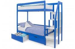 Двухъярусная кровать Бельмарко Синий