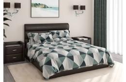 Кровать с мягким изголовьем Милана Лофт