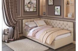 Детская кровать с мягким изголовьем Лира