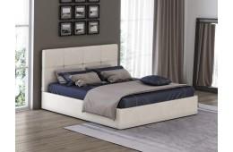 Кровать с мягким изголовьем Грация 1