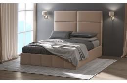 Кровать с мягким изголовьемМедисон-2
