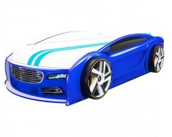 Кровать машина Ауди Манго Синяя 182*80 см