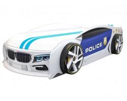 Кровать машина БМВ Манго Полиция 2