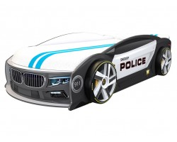 Кровать машина БМВ Манго Полиция