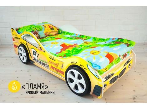 Детская кровать - машина ПЛАМЯ