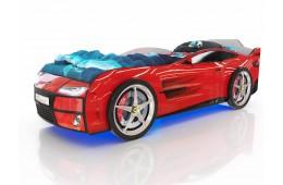 Детская кровать-машина Romack Красный