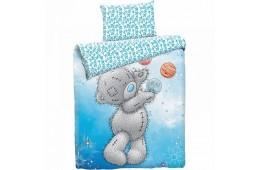 Детское постельное белье Тедди Космонавт (бязь, 100% хлопок)