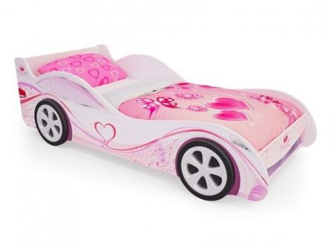 Кровать-машина для девочки Принцесса