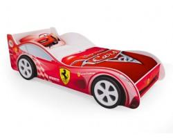 Кровать - машина Красная Феррари