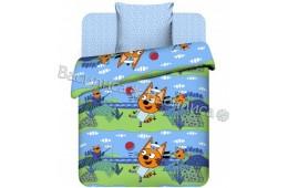 Детское постельное белье Три кота. Коржик (бязь, 100% хлопок)