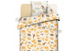 Детское постельное белье Василиса. Жирафы (поплин, 100% хлопок)
