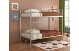 Кровать двухъярусная металлическая Севилья2 Слоновая кость