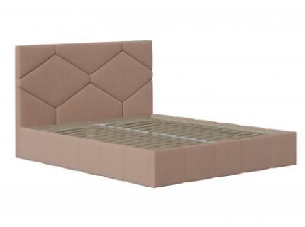 Кровать с мягким изголовьем Аделина
