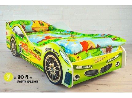 Детская кровать - машина Вихрь