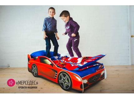 Детская кровать - машина MERCEDES (МЕРСЕДЕС)