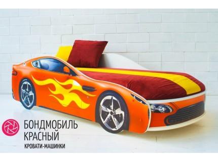 Детская кровать - машина БОНДМОБИЛЬ КРАСНЫЙ